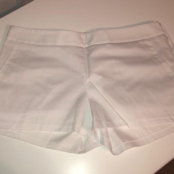 Express Pants - White dress shorts
